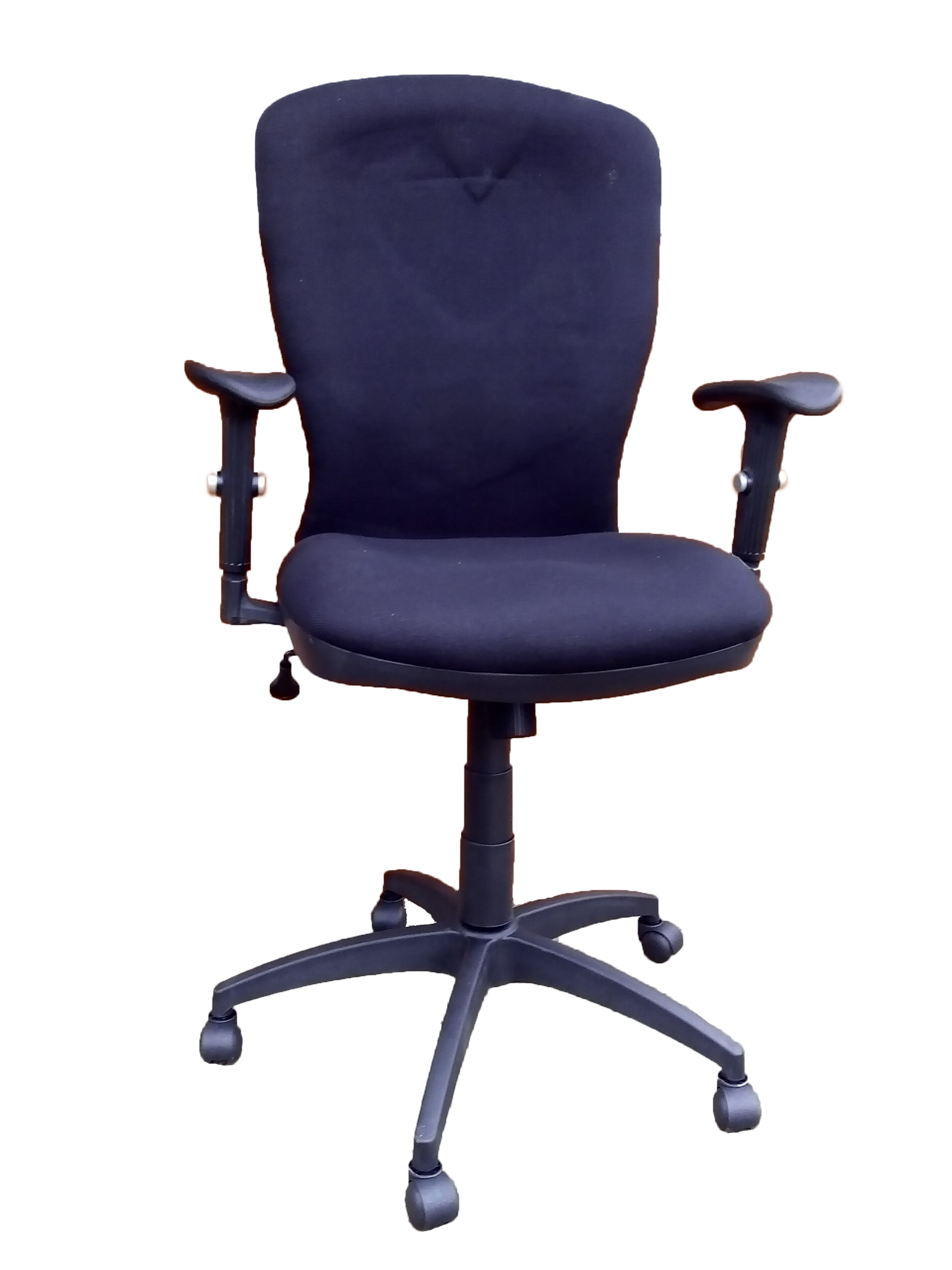 A10021h Black Computer Office Chair Front