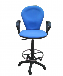 sg821T-BLUE-teller-chair-FRONT