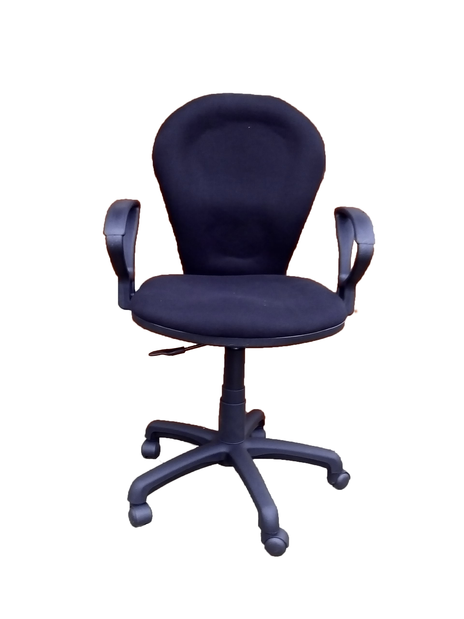 Sg821h Black Secretary Office Chair Front