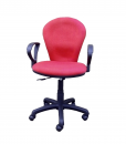 sg821h-RED-secretary-office-chair-FRONT