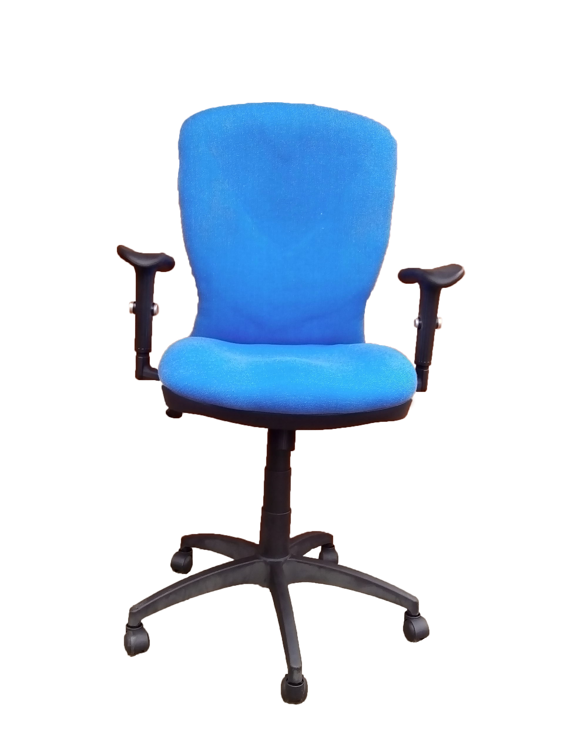 A10021h Blue Computer Office Chair Front