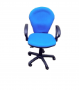 sg821h-BLUE-secretary-office-chair-FRONT